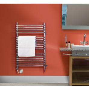 Dimplex BR350C 350W Dual Fuel Ladder Style Towel Rail Chrome