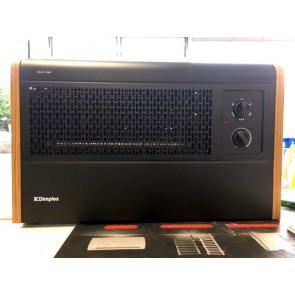 Dimplex WFC3NB Wall Fan Convector Heater 3kW Black