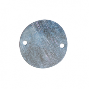 Galvanised Circular Box Lid Light 20mm/25mm
