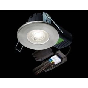 Collingwood DLT4286500 Downlight, H2 Pro 550 CS LED Fire Rated, Dimmable 65Deg IP65, Size:	6.4W