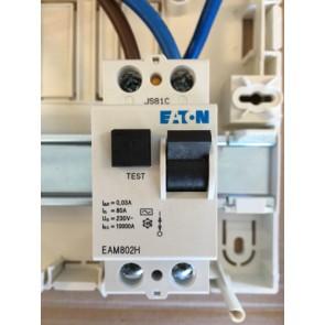 Eaton MEM EAM802H 80A 30mA SPSN RCCB
