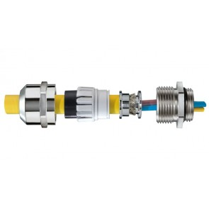 WISKA SPRINT 10065019 EMSKV 25 EMV-Z IP68 25mm SY and CY Gland, suitable for cable diameter 9 - 17mm