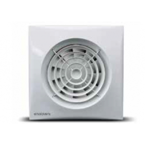 EnviroVent SIL100S Silent Extractor Fan 100mm Model comes with Backdraft Shutter