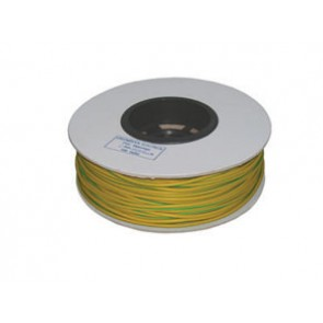 Norslo 3.0mm PVC Sleeving ES3-R Green/Yellow Drummed