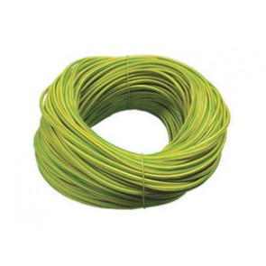 Norslo 6.0mm PVC Sleeving ES6 Green/Yellow