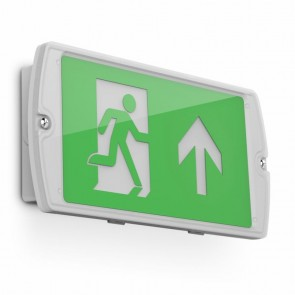 Kosnic ESGN02-PSU Manot Exit Sign Up - Buy online from Sparkshop