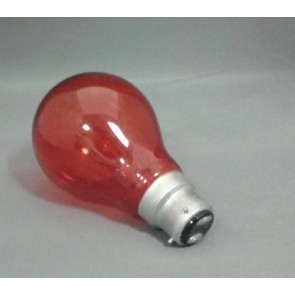 Crompton FIR603PBC  60W 3 Pin BC Fireglow GLS Lamp