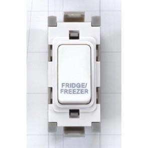 Deta G3562 20A DP Grid Fridge Freezer