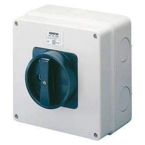 Gewiss GW70405 32 amp 3 pole 400V rotary isolator IP65