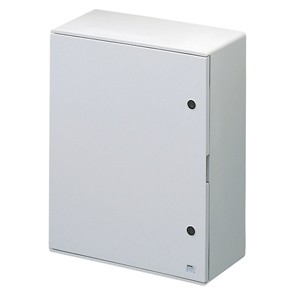 Gewiss GW46004F Watertight Polyester Enclosure with Blank Door Fitted with Lock 405x650x200 IP65