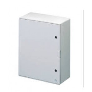 GEWISS GW46006F WATERTIGHT POLYESTER ENCLOSURE WITH BLANK DOOR FITTED WITH LOCK 585x800x300 IP65