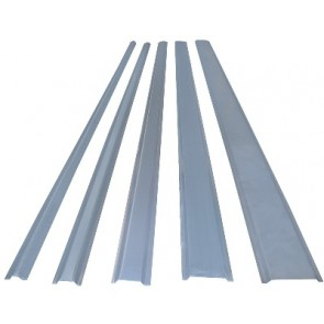SC38M 38mm Steel Channel, 2m Galvanised
