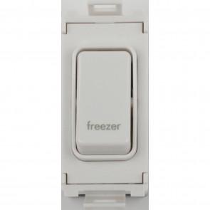 Schneider GUG20DPFZW Ultimate 2 Pole 1 Gang Grid System Switch Module (Freezer)