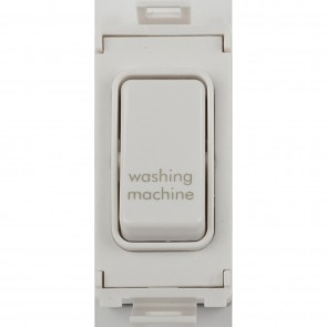 Schneider GUG20DPWMW Ultimate Grid 2 Pole 1 Gang Switch Module in White - Buy online from Sparkshop