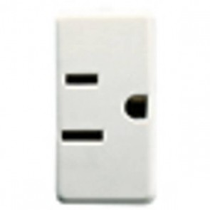 Gewiss GW20214 Socket, 2P+E USA Standard, Size:15A 125V