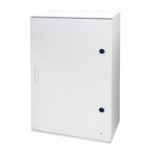 GEWISS GW46002F Enclosure, Watertight c/w Blank Door & 2 Locks, 12x3 Module IP66, Size: 310x425x160mm