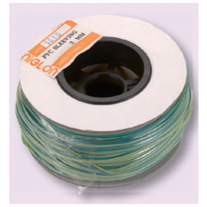 GY2D Earth Sleeving 2mmx100m Green/Yellow - Buy online from Sparkshop