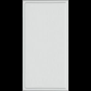 Hager Sollysta WMMB White Moulded Single Blank Euromodule