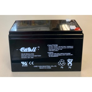 VT1207 12V 7.0AH Sealed Lead Acid Rechargeable Battery