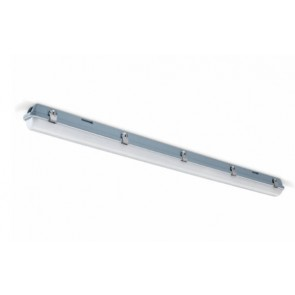 JCC JC71553WOP Luminaire, Single Batten LED 4000K, Anti-corrosive, Size: 20W 2200lm 4ft