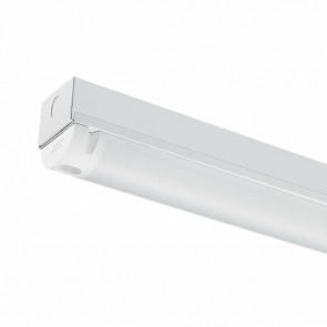 JCC JC71701EM Skypack LED Batten 1200mm '4ft Single' 20W 2480lm 4000K IP20 Emergency