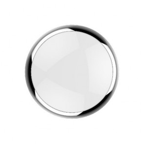 Kosnic KBHC6-TCHM Polo Clip On Ring for Blanca Bulkhead in Chrome - Buy online from Sparkshop