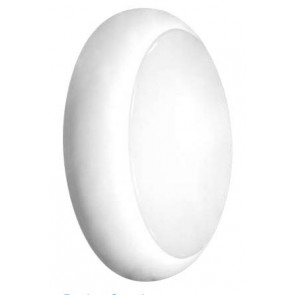 Kosnic KBHDDC2S65-WHT Twist & Lock Bulkhead for LED DD Lamps