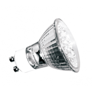 Kosnic 1.5W LED GU10 Hi-Output Coloured Lamp 240V Cool White 4000K (KLED1.5HIO/GU10-WHITE)