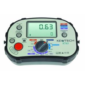 Kewtech KT63 Digital 5-in-1 Multifunction Tester (KT63)