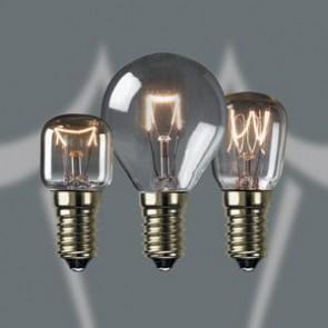 Crompton AO25CSES 25W 300°C Oven Lamp Clear SES Cap