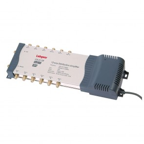 Labgear LDL212R – 2-in, 12-out Mains Powered DigiLink Amp  - Buy online from Sparkshop
