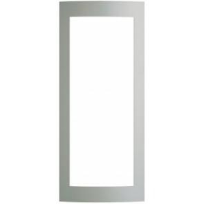Terraneo/Bticino 331231 3 Module (vertical) Modular Surround Plate, Silver