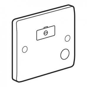 Legrand Synergy 730032 Fused Spur with Flex Outlet 13A 250V