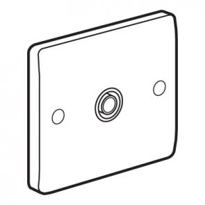 Legrand Synergy 730040 Screened TV Socket