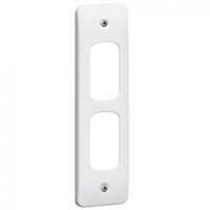 Legrand Synergy 730181 2G Architrave Grid Plate