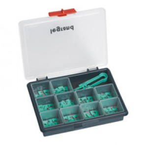 Legrand 026145 BUS Plug-In Jumpers Kit, 0 to 9 Marking (10 of each)