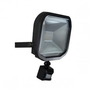 Luceco LFSP30W1B Slimline Guardian LED Floodlight with PIR 30W IP44 1800lm