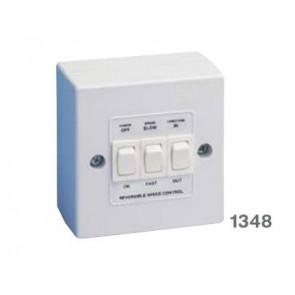 Manrose 1348 Controller, Fan Speed Two Speed Reversing