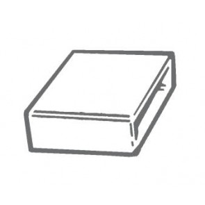 Manrose 1530, 300 x 25mm, Flat Channel Connector
