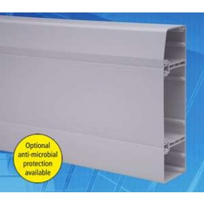 Marco MTS3 Apollo 3 Compartment Skirting Trunking, 3m x 170mm x 50mm