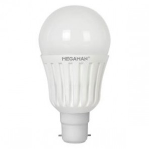 Megaman 148139 13W Opal Classic Dimming LED B22 2800K  [image © Megaman UK Limited]