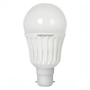 Megaman 148139 13W Opal Classic Dimming LED B22 2800K  [image © Megaman UK Limited]