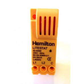 Hamilton N400G 1 Gang 400W 2 Way Leading Edge Push On/Off Resistive Dimmer