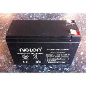 VT1207 12V 7.0AH Sealed Lead Acid Rechargeable Battery