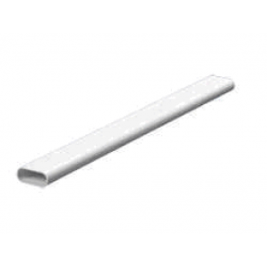 Mita OVL12W Oval Conduit 3m x 12mm White