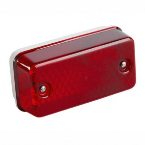 GreenBrook POLYR 100W Polycarbonate Anti-Vandal Bulkhead Red IP65