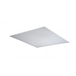 Dextra Lighting PP66 Diffuser Pris Clear T8 600 x 600mm