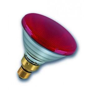 Radium Ralogen RJH PAR38 75W/240/R/E27 ES Halogen PAR38 Reflector Lamp 75W Flood Red