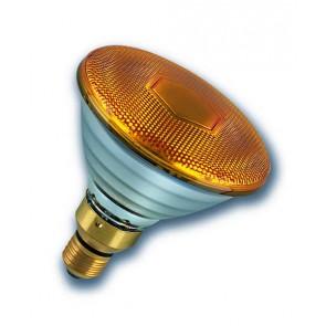 Radium Ralogen RJH PAR38 75W/240/Y/E27 ES Halogen PAR38 Reflector Lamp 75W Flood Yellow