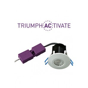 Robus RATR8P04038-01 Triumph Activate™ 8W 38Deg LED Downlights 4000K IP65 Dimmable